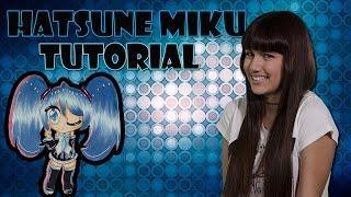 Como dibujar a Hatsune Miku (Tutorial) Chibi Kawaii How to draw Hatsune Miku
