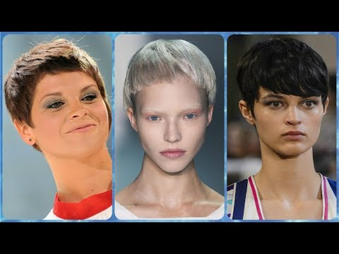 Short haircuts - 20 ideas for modern short hairstyles for women