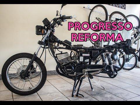 Yamaha RDZ 135 - Atualizando a reforma