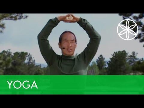 5 minute desk yoga!