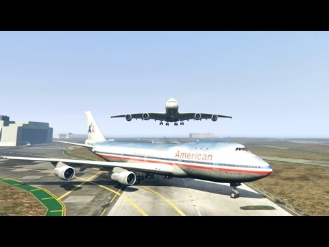 GTA 5 - Amazing\terrible PLANE CRASH Compilation #3 (This Is GTA5 Game)...