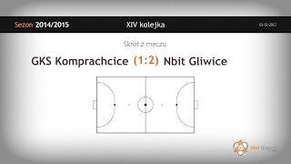 GKS MASITA Komprachcice vs NBit Gliwice (14 kolejka) - skrót