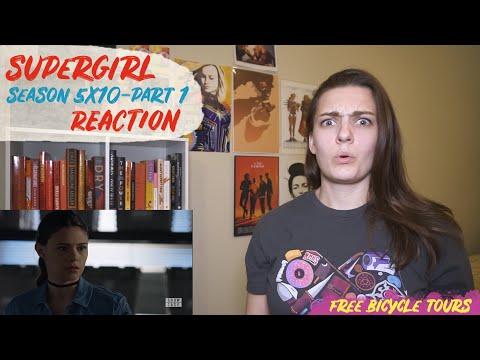 "Supergirl Season 5 Episode 10 ""The Bottle Episode"" REACTION Part 1"