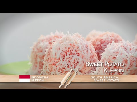 Sweet Potato Klepon | Food Flip | Food Network Asia