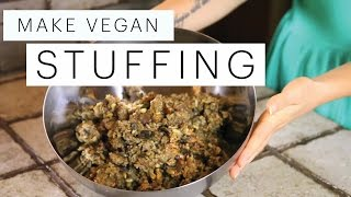Vegan Stuffing Recipe (Gluten Free Christmas) | The Edgy Veg