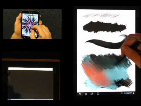 Video of Infinite Painter (Galaxy Note)