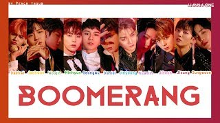 Video [COLOR CODED/THAISUB] WANNA ONE - Boomerang #พีชซับไทย MP3, 3GP, MP4, WEBM, AVI, FLV Juni 2018