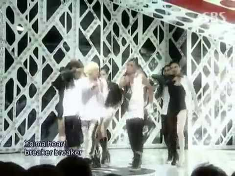 G-dragon – heartbreaker + breath @ SBS Inkigayo 인기가요 090830