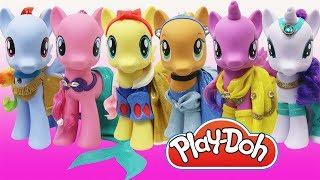 Video Play Doh Dress Disney Princess MLP My Little Pony Rainbow Dash Twilight Sparkle Pinkie Pie Applejack MP3, 3GP, MP4, WEBM, AVI, FLV April 2019