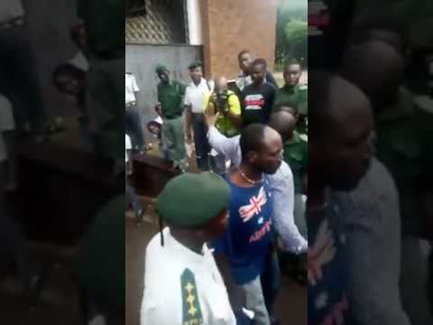 Evan Mawarire leaves Magistrates Court