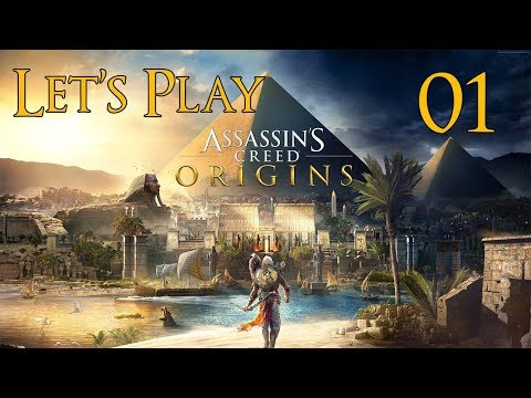 Assassin's Creed Origins - Let's Play Part 1: The Oasis