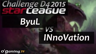 ByuL vs INnoVation - Starleague 2015 Season 2 Challenge - Day 4