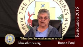 Restoration 2016 - What Does Restoration Mean to You? - Bonna Pool