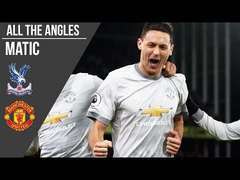 Nemanja Matic V Crystal Palace Goal | All The Angles | Manchester United