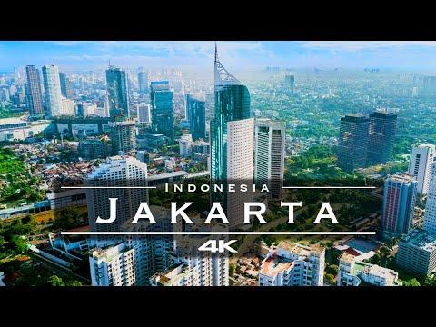 Jakarta, Indonesia 🇮🇩 - by drone [4K]
