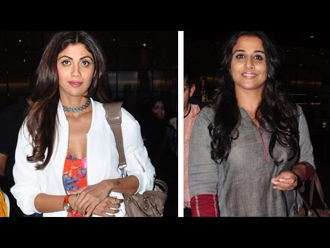 Here's What Happened When Shilpa Shetty And Vidya