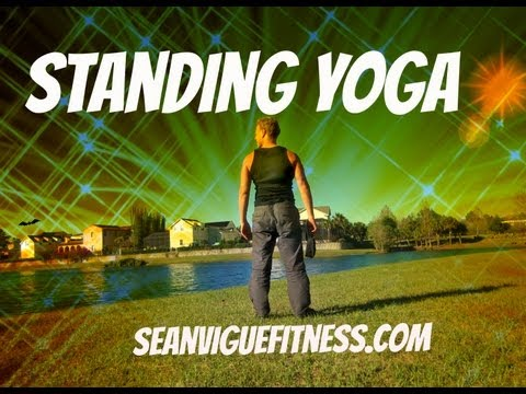 15 min Yoga Class – Standing Yoga for Beginners – Sean Vigue Fitness