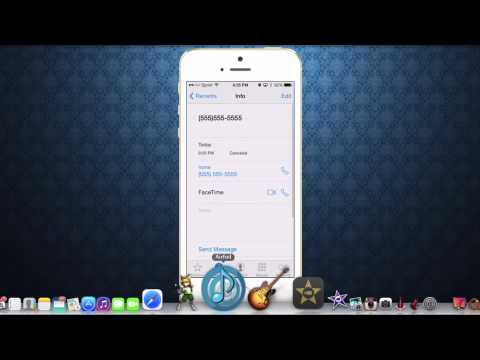 Block caller with iOS 7