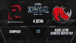RMP vs KLG, game 1