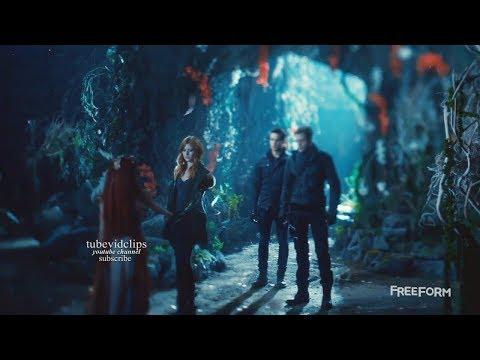 Shadowhunters 2x14 Jace Clary Simon Meet Seelie Queen   Season 2 Episode 14