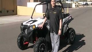 10. Rick Mace At RideNow Peoria Demonstrates The 2011 Polaris RZR XP 900 White Lightning
