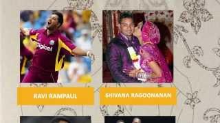 Wives of West-Indies (Caribbean) cricketers (Chris Gayle, pollard, sammy, chanderpaul, Ramdin...)