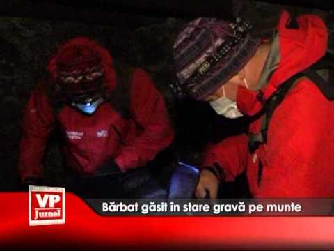 Bărbat găsit în stare gravă pe munte