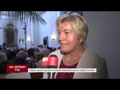 TVS: Uh.Ostroh - Oslavy vysvěcení kostela