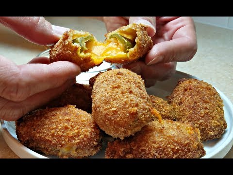 JALAPENO POPPERS | How To Make Jalapeno Cheddar Poppers