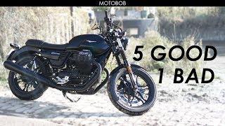 5. Moto Guzzi V7 III Stone Test Ride & Review