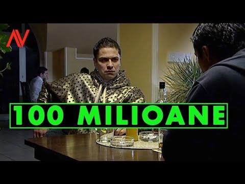 100 de milioane....Augustin Viziru in rolul lui Armando din serialul REGINA...(secvente showreel)