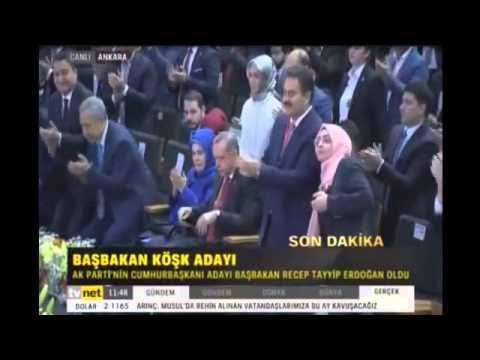 AK Parti'nin Cumhurbakan aday böyle açıklandı