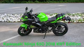 3. Just purchased a 2018 Kawasaki Ninja 650 KRT Edition Total Newbie Rider