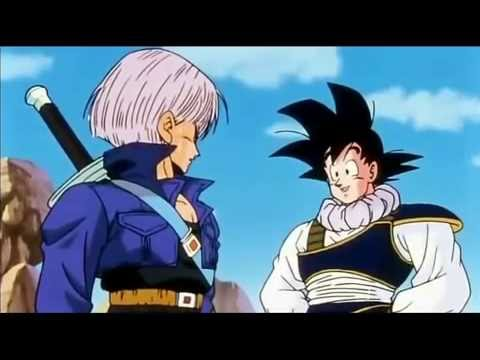 Goku Meets Trunks