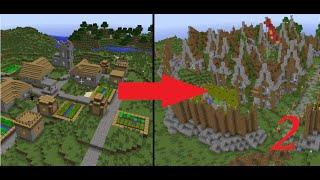 Minecraft Let's Build: Let's Transform a Village! - Episode 2
