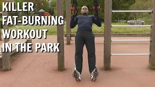 Working Out In The Park | Jungle Gym XT