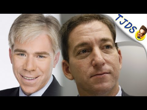 David Gregory Asks ABSURD Question Of Glenn Greenwald (TJDS)