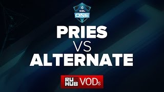 PRIES vs Alternate Attax, game 2