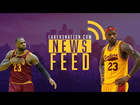 Video: Lakers Feed: Lebron James 'Unequivocally' Signing With Lakers Next Summer??