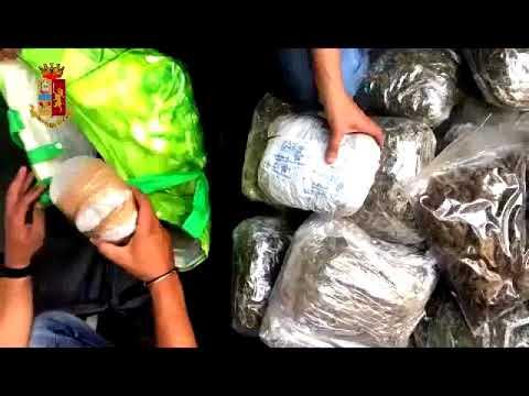 Arrestata la signora della droga VIDEO DELLA POLIZIA