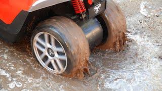 Video Dima Big Boss - Power Wheels Car stuck in the mud MP3, 3GP, MP4, WEBM, AVI, FLV November 2018
