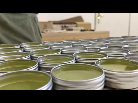 Around the workshop | Beeswax salve on the making