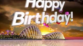 Singapore Gardens By The Bay 1st/First Birthday Party - Launch Animation by Helios Media Design