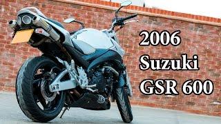 6. 2007 Suzuki GSR 600 - Motorcycle Review