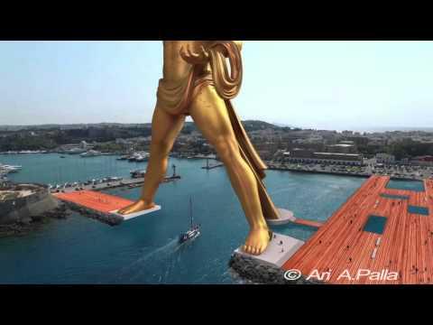 破產的希臘決定重建150公尺高的巨型太陽神銅像,只是看概念影片而已就已經日夜都在期待了!