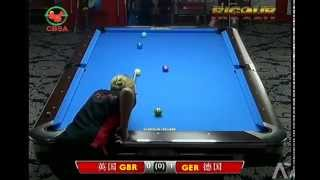 2014 World Pool Team Germany V Great Britain - Women 9-ball Single
