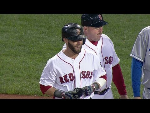 Video: Pedroia's RBI single