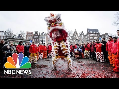 Lunar New Year Celebrated Around the World With Food, Fireworks, Family | NBC News