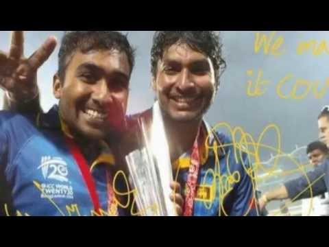 Brett Lee Singing with Kumar Sangakkara