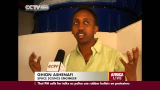 Ethiopian Set For A Space Mission